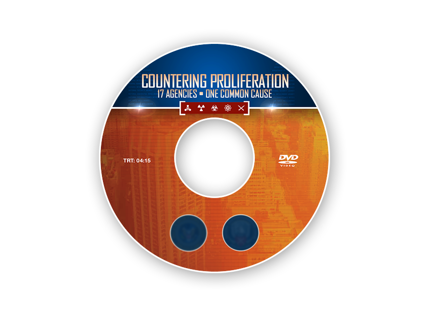 Countering Proliferation DVD Label