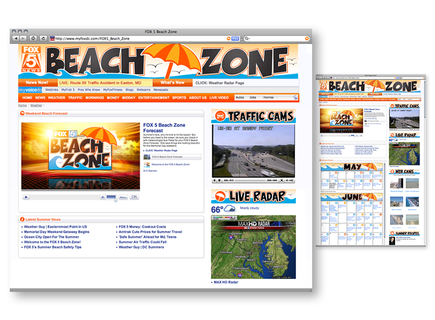 Fox5 Beach Zone